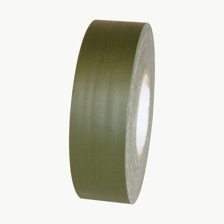JVCC J90 Low Gloss Gaffer-Style Duct Tape: 2 in. x 60 yds. (Olive Drab) - Olive Drab Duct Tape
