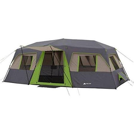 Ozark Trail 20 X 10 Green Instant Cabin Tent, Sleeps 12