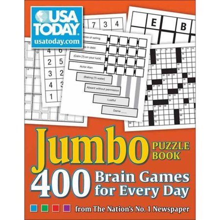 Usa Today Jumbo Puzzle Book  400 Brain Games For Every Day From The Nations No  1 Newspaper