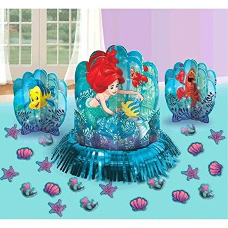 Disney Little Mermaid Princess Ariel Dream Big Party Table Decorations Kit Centerpiece 23 PCS