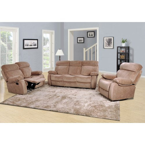 Beverly Fine Furniture Amida 3 Piece Living Room Set