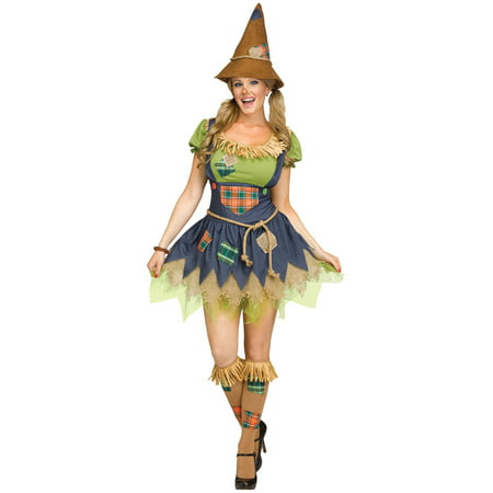 Sweet Scarecrow Adult Costume - Cheap Scarecrow Costume