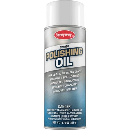 - Sprayway 920 Industrial Polishing Oil 12.75 oz