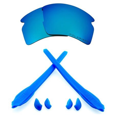 Replacement Lenses Accessories Compatible with OAKLEY FLAK 2.0 XL Blue & (Oakley Pro Surf)