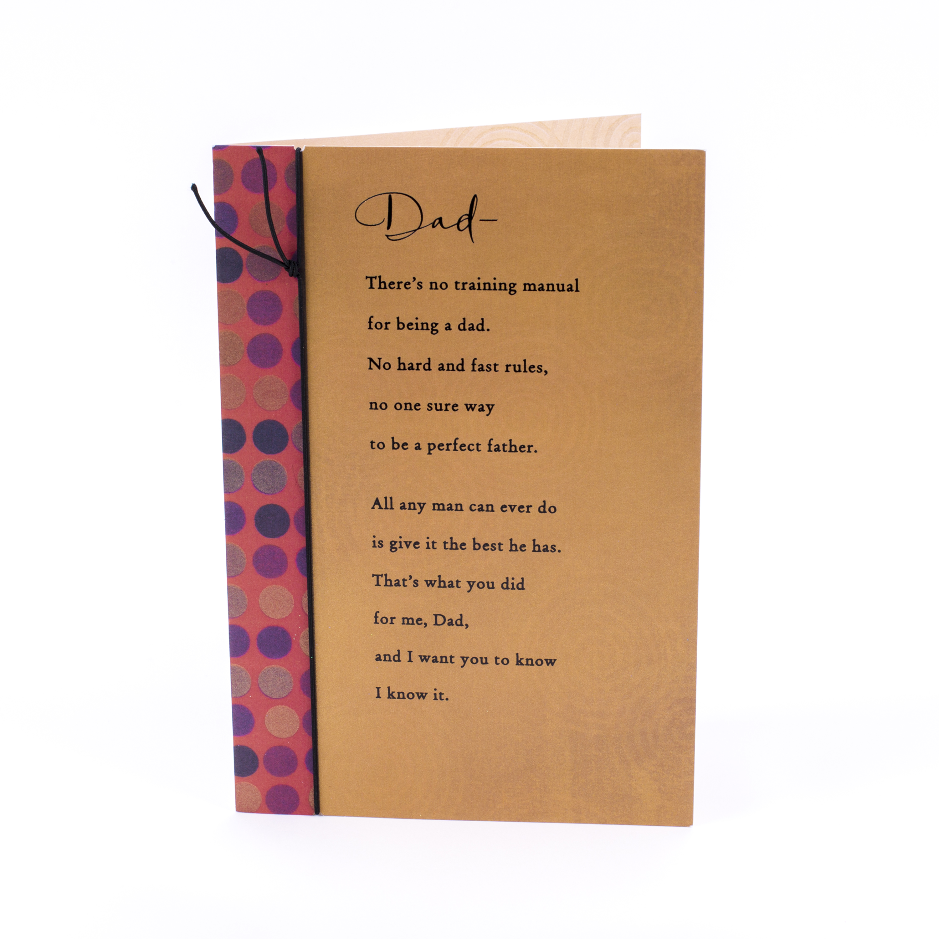 Dad Birthday card Greeting card Large Hallmark Men