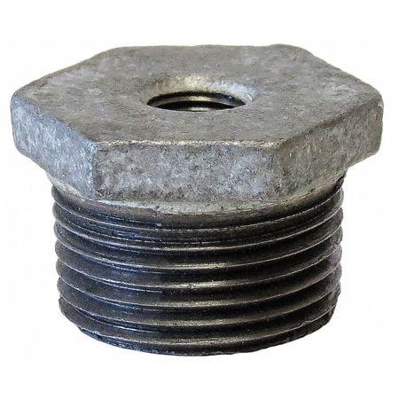 ANVIL Bushing,Galv Steel,3/8In. x 1/4In. 319905402