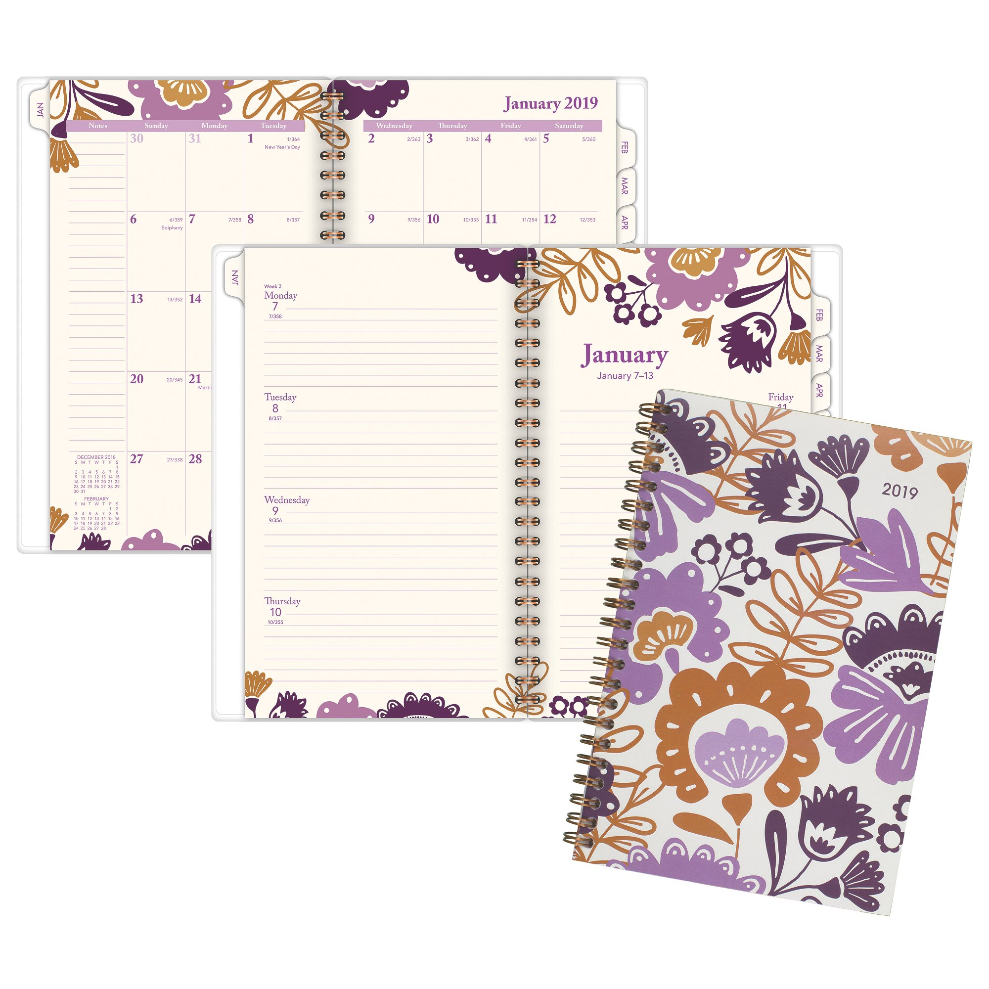 At-A-Glance Ingrid Weekly-Monthly Planner - 2019 Yearly Planners & Appointment