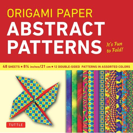 (Origami Paper - Abstract Patterns - 8 1/4