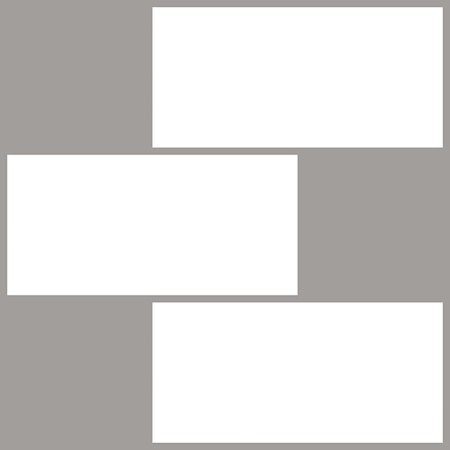 Brewster Subway Peel & Stick Backsplash Tiles White