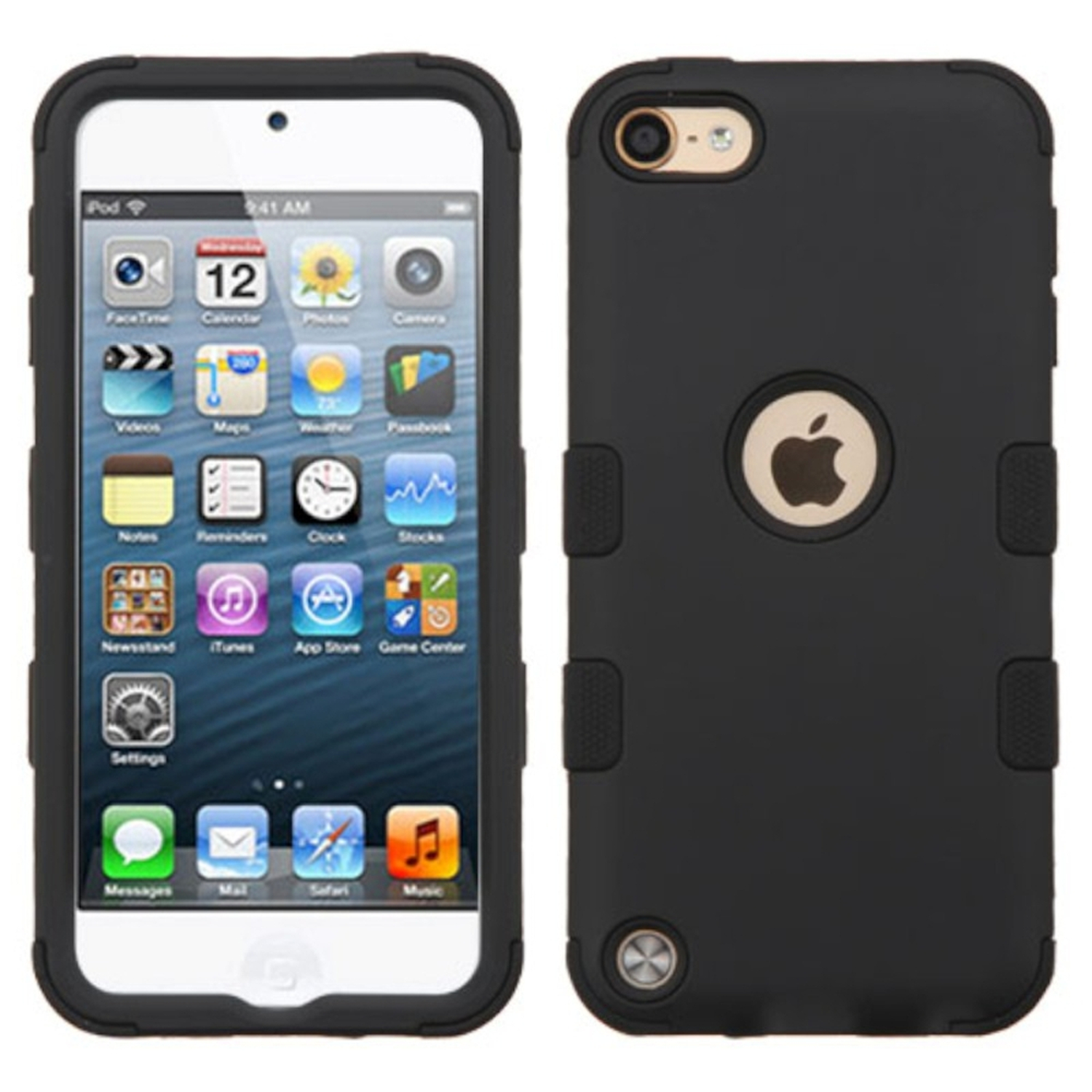 iPod Touch 6th Generation Case, iPod Touch 5th Generation Case, by Insten Tuff Hard Dual Layer Hybrid Case For Apple iPod Touch 6th 5th Gen case cover