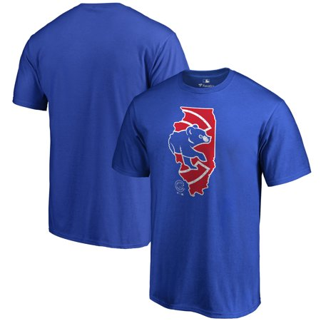 Chicago Cubs Hometown Collection IL T-Shirt - Royal
