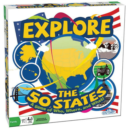 Outset® Media Explore the 50 States Game