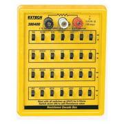 Resistance Decade Box, Extech, 380400