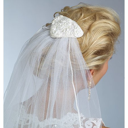 Vogue Pattern Bridal Veils, One (Diamond White Veils)