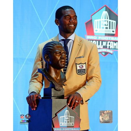 Randy Moss 2018 NFL Hall of Fame Induction Ceremony Photo Print