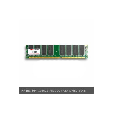 DMS Compatible/Replacement for HP Inc. P5300G#ABA Pavilion 751n 512MB eRAM Memory DDR PC2100 266MHz 64x64 CL3  2.6v 184 Pin DIMM - DMS 2100 266mhz Sdram 184 Pin