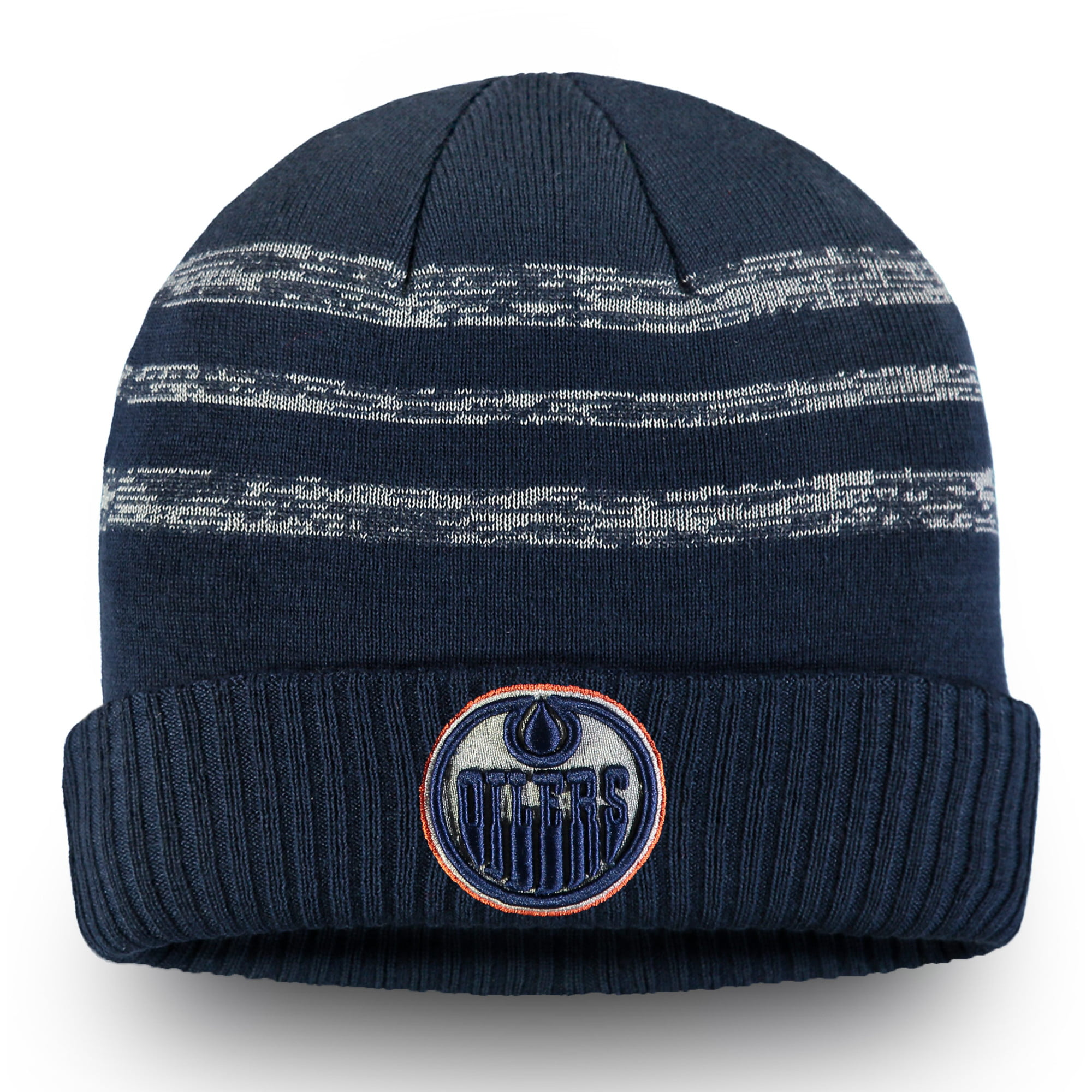 6690e38b9 Edmonton Oilers Fanatics Branded Authentic Pro Clutch Cuffed Knit Hat -  Navy - OSFA - Walmart.com