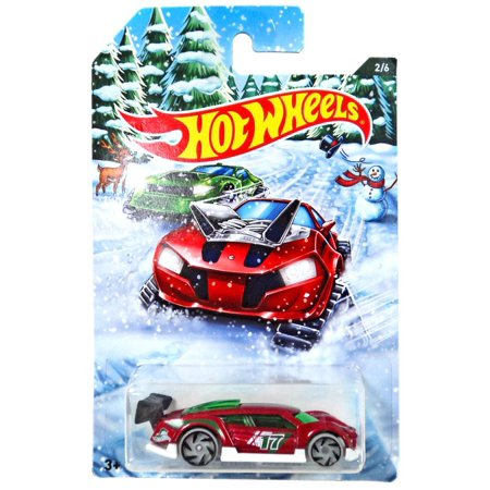 Hot Wheels 2017 Holiday Rods Super Blitzen Cast Car