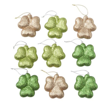 St. Patrick's Day Ornaments, Set of 9 (St Patricks Day Ornaments)