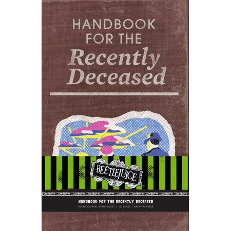 Beetlejuice: Handbook for the Recently Deceased Hardcover Ruled Journal - Beetlejuice Valentines