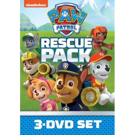 Paw Patrol Episodes Halloween (Paw Patrol Rescue Pack (DVD))