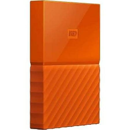 Western Digital WDBS4B0020BOR-WESN 2TB My Passport Orange ...