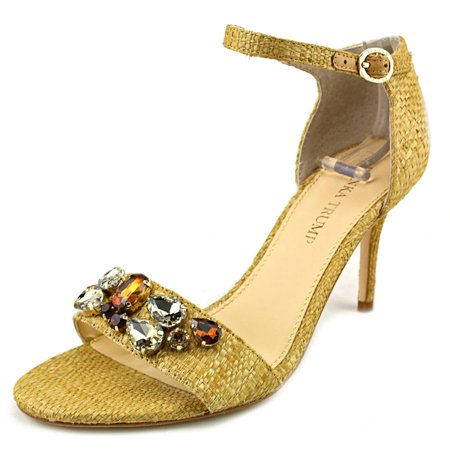 Ivanka Trump Gessa Open Toe Leather Sandals