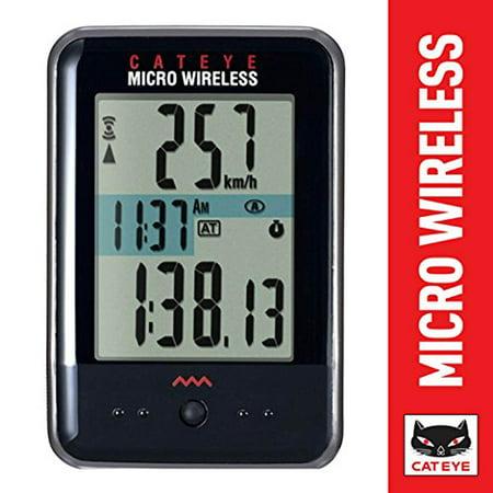 - Micro Wireless Bike Computer CAT EYE - Black Cat Eye Vectra Wireless Cycle Computer