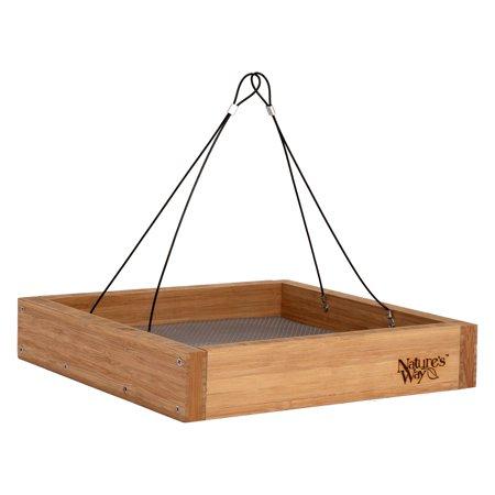- Nature's Way BWF3 Bamboo Hanging Platform Feeder