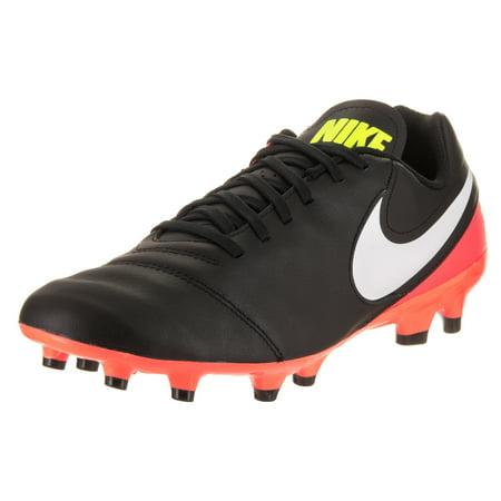 51b7f5c2f2a Nike Men s Tiempo Genio II Leather Fg Soccer Cleat - Walmart.com