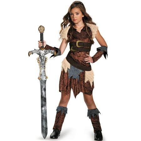 Barbarian Beauty Tween Costume