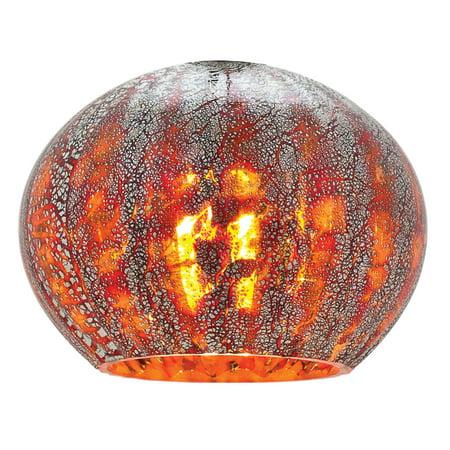 Safari Pendant Lamp (Access Lighting-980OPR-RRO-Safari- - 5 Glass  RRO Finish)