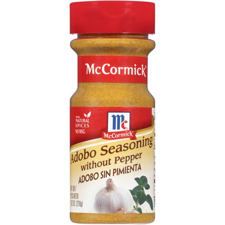 (3 Pack) McCormick Without Pepper Adobo Seasoning, 7.62 oz