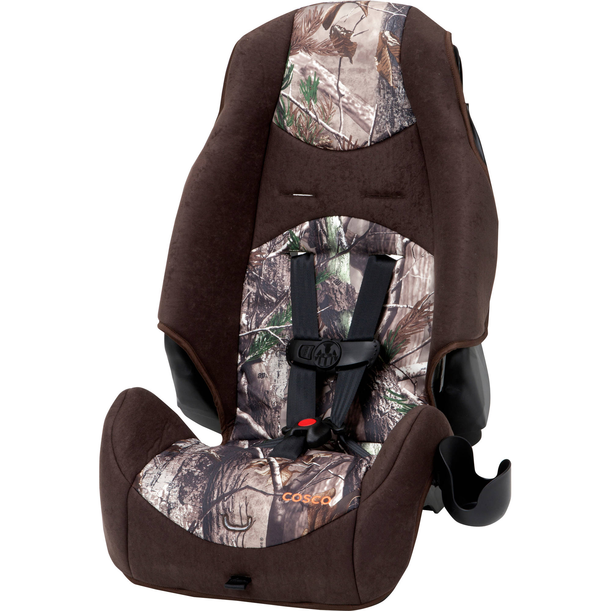 Cosco Highback 2-in-1 Booster Car Seat, Realtree Ap