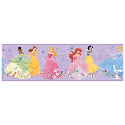 Room Mates Room Mates Deco Dancing Princess 15' x 9'' Border Wallpaper