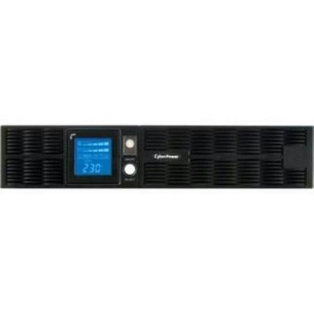 Cyberpower 1000 Va Line Interactive Ups   1000 Va 700 W   220 V Ac  230 V Ac  240 V Ac   11 Minute   2U Tower Rack Mountable   11 Minute   8 X Iec 60320 C13  Pr1000elcdrt2u