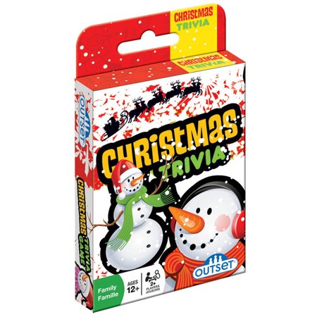 Christmas Trivia Card Game - Christmas Gift Games