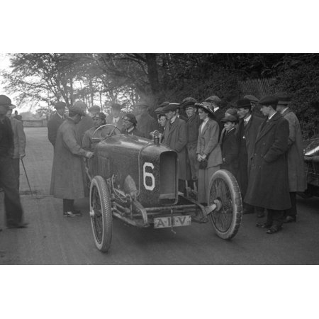 AJ Hancocks 3308 cc Vauxhall at the RAC Isle of Man TT race, 10 June 1914 Print Wall Art By Bill