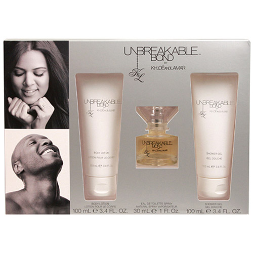 Unbreakable Bond by Khloe and Lamar Fragrance Gift Set, 3 pc