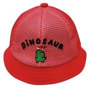 nomeni (6-18 months)Baby Boys Girls Summer Cartoon Dinosaur Letter Sun Protection Hat Sunscreen Cap