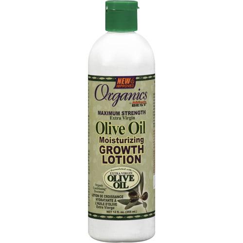 Organics Moisturizing Growth Lotion, 12 oz