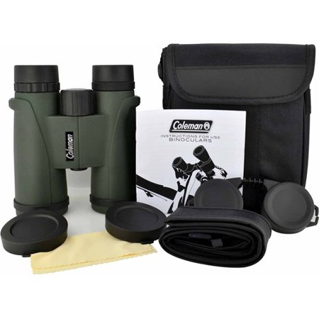 Coleman 10x42 Signature Waterproof Binoculars, Green