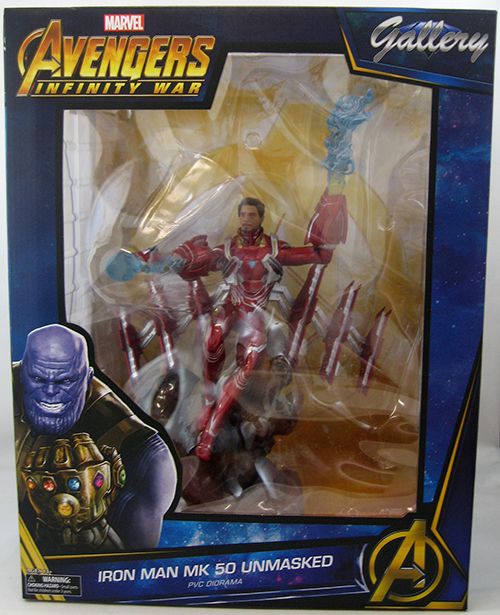 DIAMOND SELECT TOYS Marvel Gallery Iron Man Mk50 Avengers Infinity War
