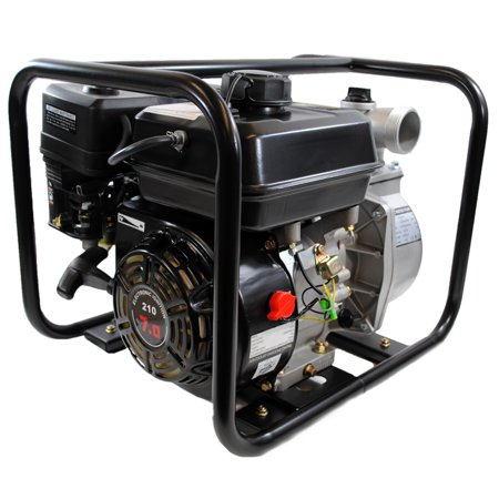 Shop4Omni 4-Stroke 132 GPM 2 Inch 7 HP Gas Powered Portable Water Pump for $<!---->