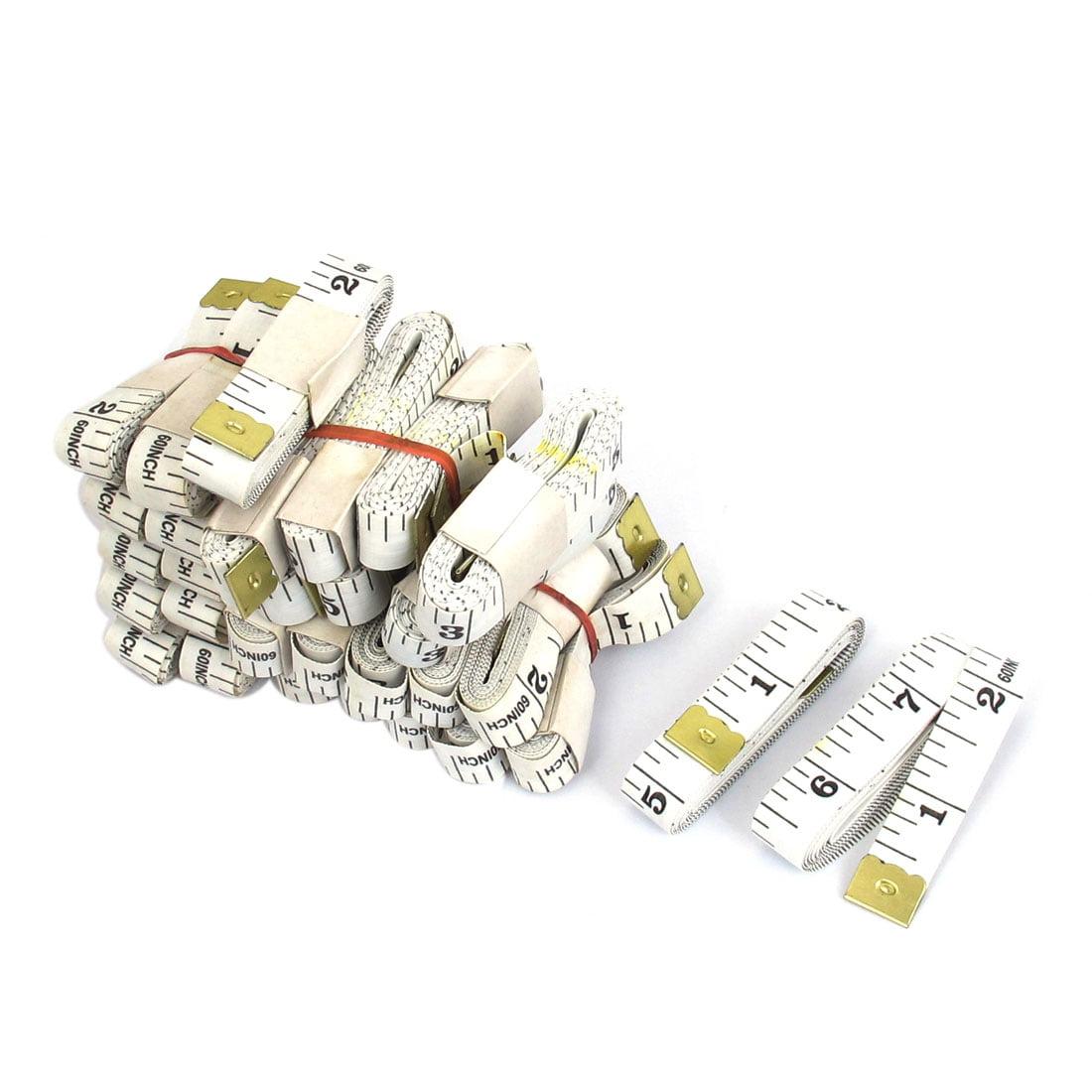 30pcs 150cm White Flexible Double Scale Tailor Sewing Cloth Ruler Tape Measure