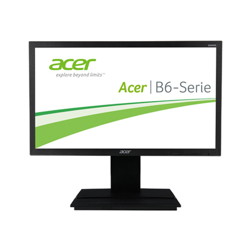 Acer B206HQL ymdh 19.5 inch Widescreen 100,000,000:1 5ms VGA/DVI LED LCD Monitor, w/ Speakers (Dark UM.IB6AA.001