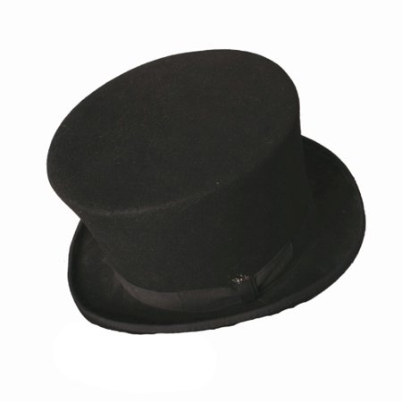 Black Bell Topper Hat Halloween Costume Accessory