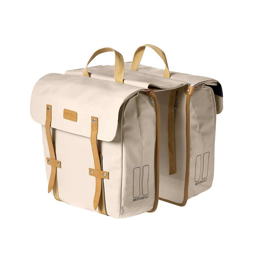 Basil, Portland Slim-fit Double bag, Creme
