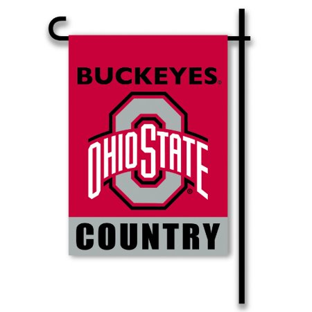Bsi Products Inc Ohio State Buckeyes 2 Sided Country Garden Flag Garden Flag