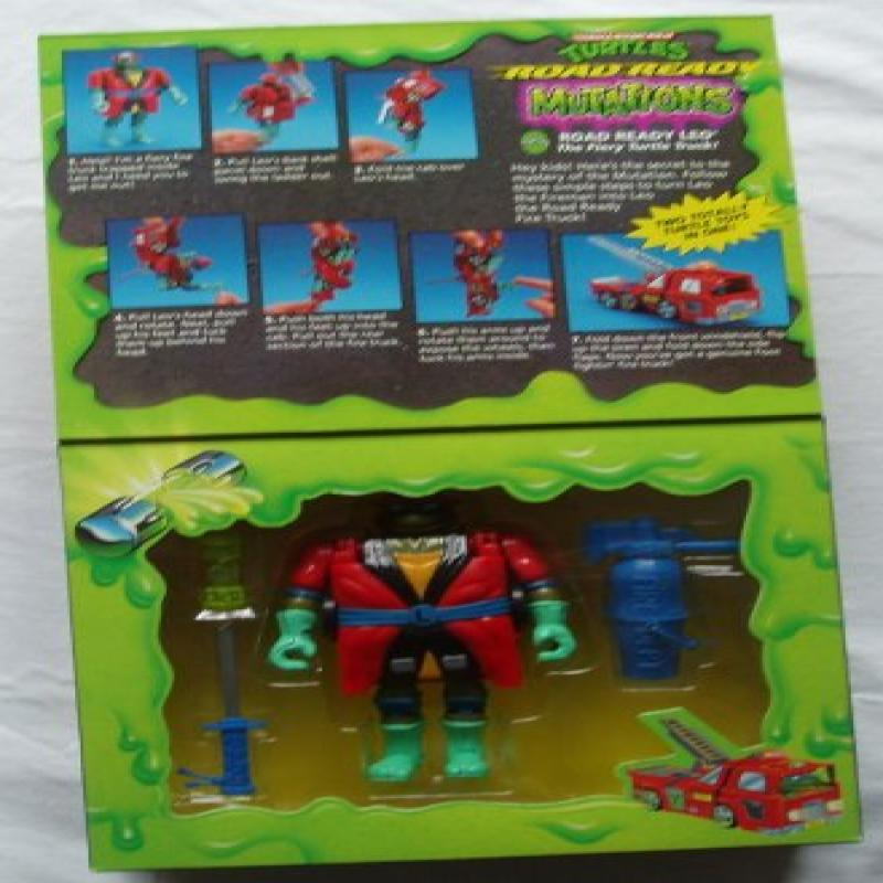 Playmates Teenage Mutant Ninja Turtles Road Ready Mutatio...
